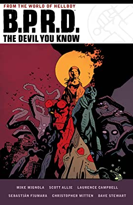 B.P.R.D. The Devil You Know Omnibus