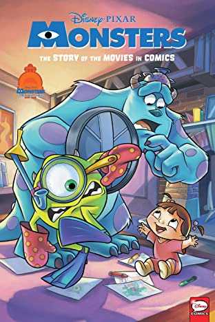 Disney•PIXAR Monsters Inc. and Monsters University: The Story of the Movies in Comics