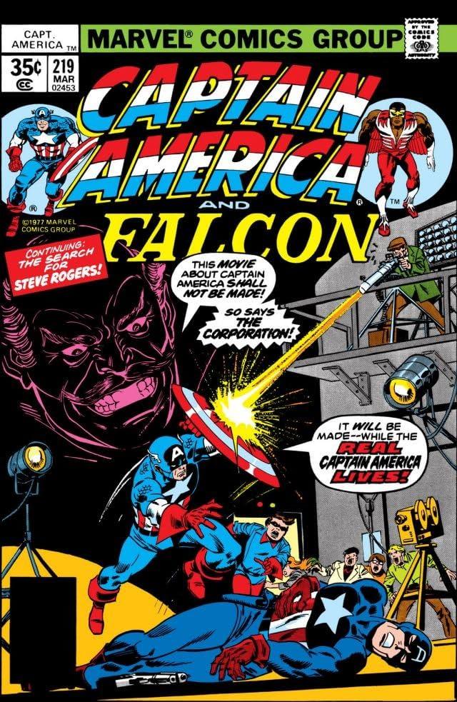 Captain America (1968-1996) #219