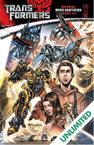Transformers: The Official Movie Adaptation #1 (of 4)