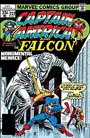 Captain America (1968-1996) #222