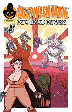 Halloween Man Vol 5: Lost Worlds and Lost Causes Tome 5: Halloween Man Vol 5: Lost Worlds and Lost Causes