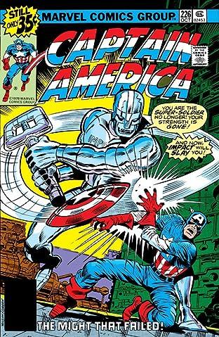 Captain America (1968-1996) #226