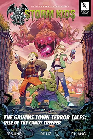 John Carpenter Presents Storm Kids: THE GRIMMS TOWN TERROR TALES: RISE OF THE CANDY CREEPER: THE GRIMMS TOWN TERROR TALES: RISE OF THE CANDY CREEPER Graphic Novel