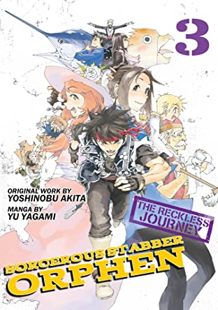 Sorcerous Stabber Orphen: The Reckless Journey Tome 3