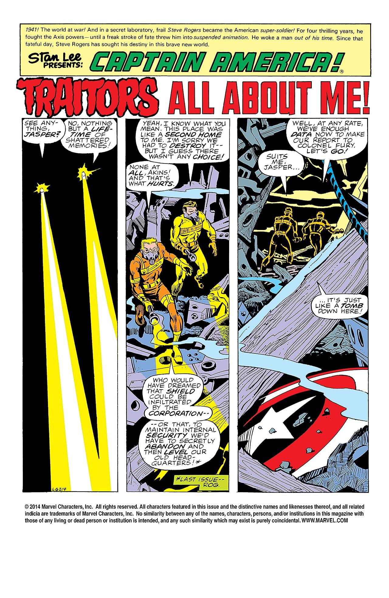 Captain America (1968-1996) #229