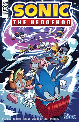 Sonic The Hedgehog (2018-) #40