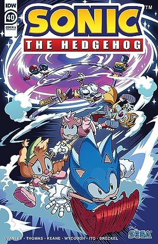 Sonic The Hedgehog (2018-) No.40