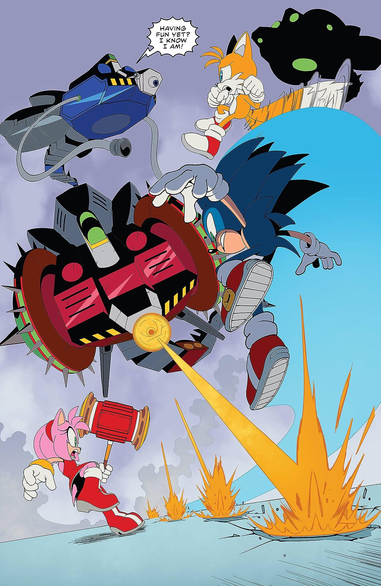Sonic The Hedgehog (2018-) #40