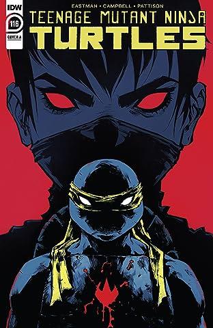 Teenage Mutant Ninja Turtles #116