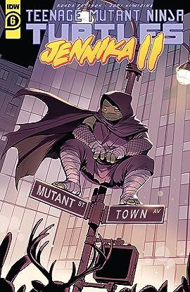 Teenage Mutant Ninja Turtles: Jennika II #6 (of 6)