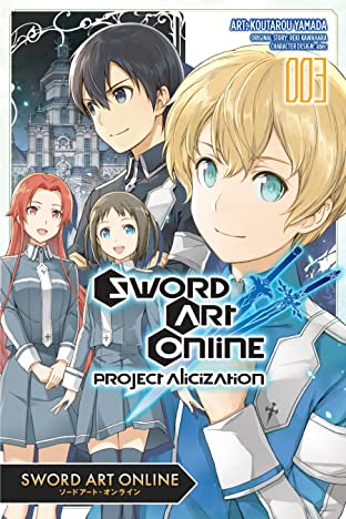 Sword Art Online: Project Alicization Vol. 3