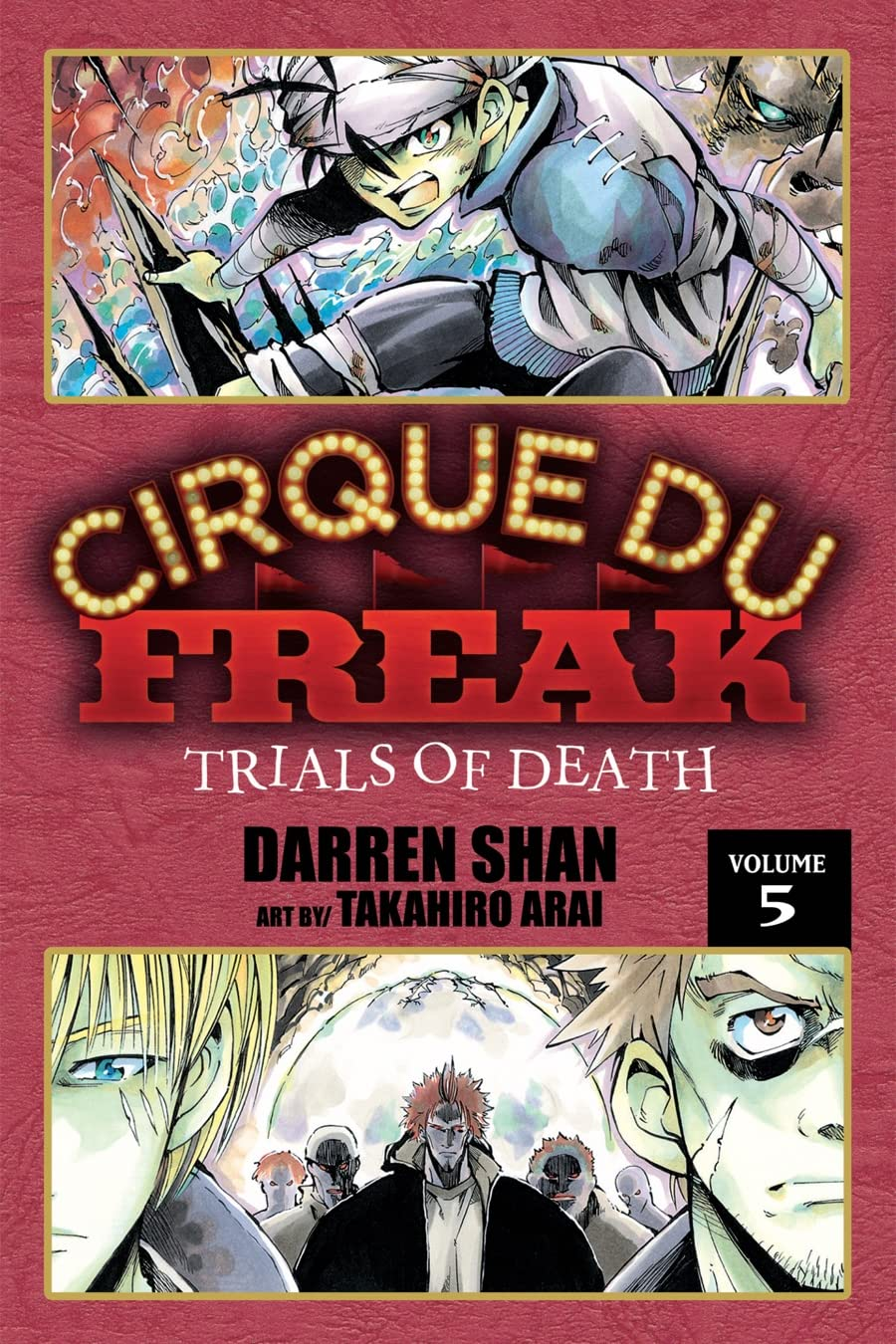 Cirque Du Freak: The Manga Vol. 5: Trials of Death