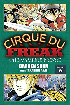 Cirque Du Freak: The Manga Tome 6: The Vampire Prince
