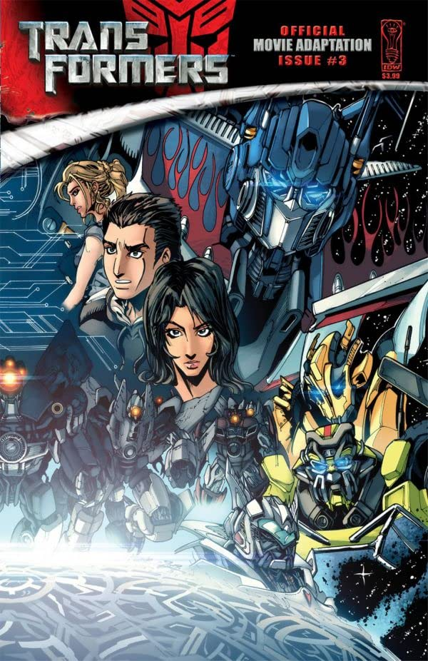 Transformers: The Official Movie Adaptation #3 (of 4)