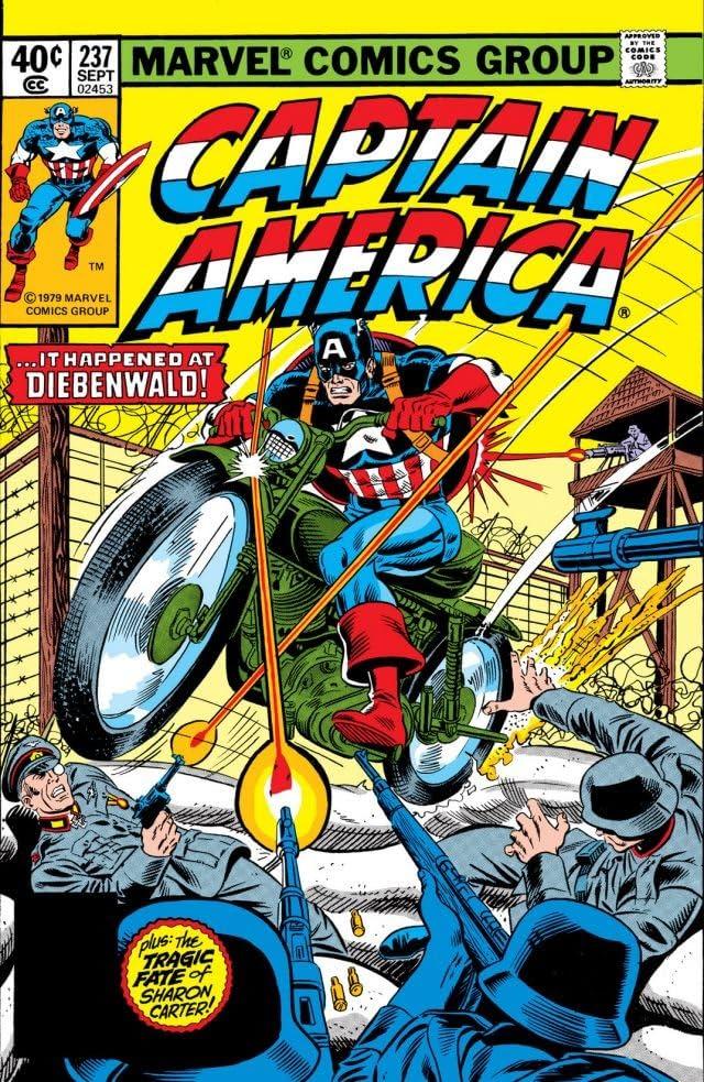 Captain America (1968-1996) #237