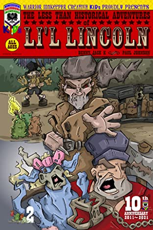 The Less Than Historical Adventures of Li'l Lincoln #2