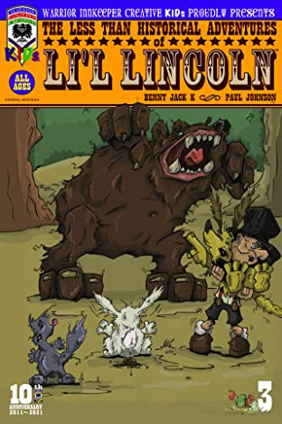 The Less Than Historical Adventures of Li'l Lincoln #3