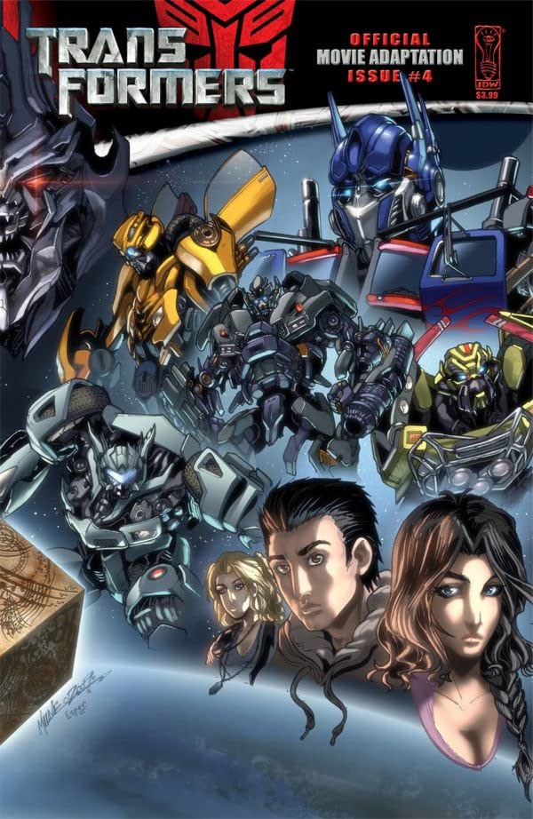 Transformers: The Official Movie Adaptation #4 (of 4)
