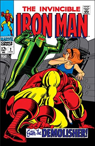 Iron Man (1968-1996) No.2