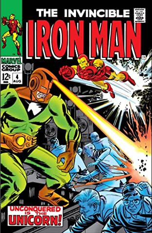 Iron Man (1968-1996) No.4