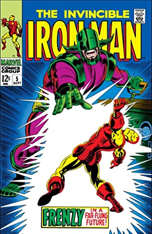 Iron Man (1968-1996) No.5