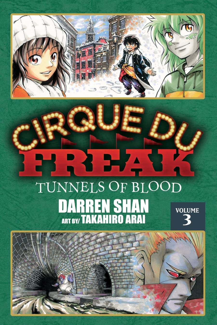Cirque Du Freak: The Manga Vol. 3: Tunnels of Blood
