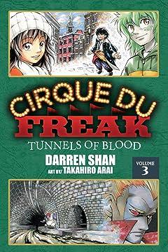 Cirque Du Freak: The Manga Vol. 3: Tunnels of Blood