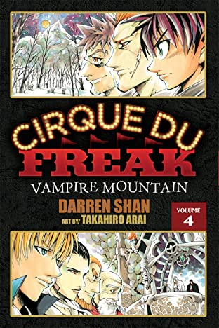 Cirque Du Freak: The Manga Vol. 4: Vampire Mountain