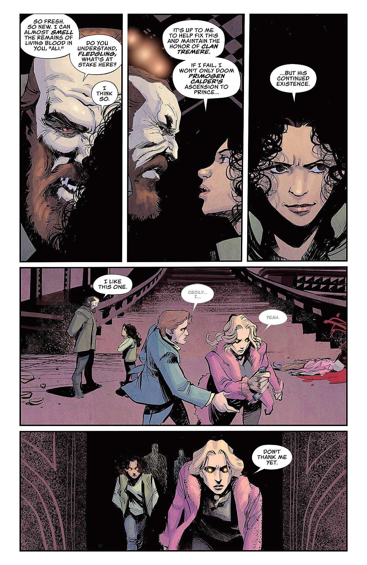 Vampire The Masquerade: Winter's Teeth #8