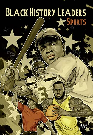 Black History Leaders: Athletes: LeBron James, Jackie Robinson, Russell Wilson and Tiger Woods
