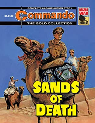 Commando #5416: Sands Of Death