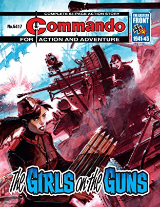 Commando #5417: The Girls On The Guns
