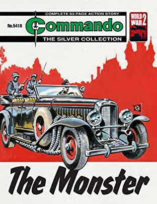 Commando #5418: The Monster