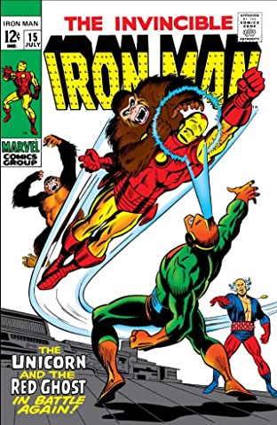 Iron Man (1968-1996) No.15