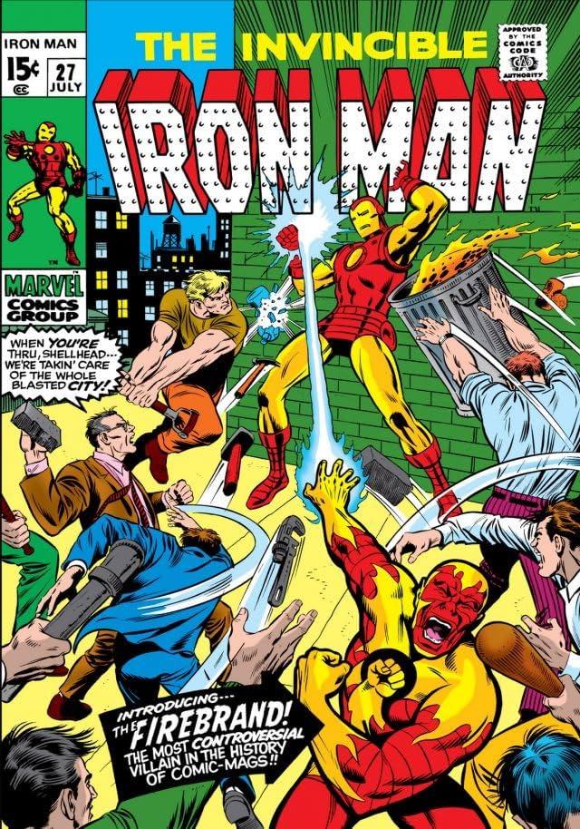 Iron Man (1968-1996) #27