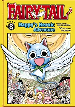 Fairy Tail: Happy's Heroic Adventure Tome 8