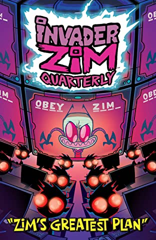 Invader ZIm Quarterly No.1: Zim's Greatest Plan