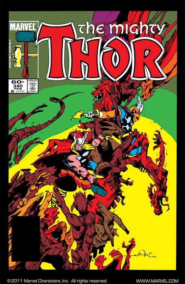 Thor (1966-1996) #340