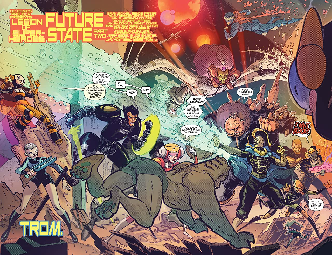 Future State (2021-) #2: Legion of Super-Heroes