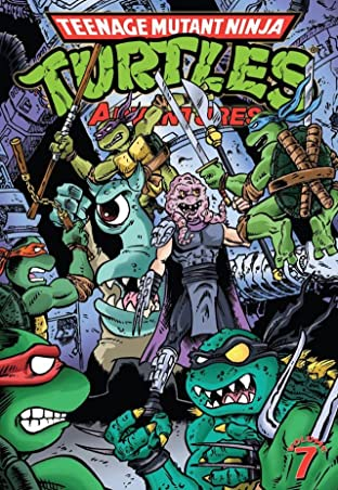 Teenage Mutant Ninja Turtles Adventures Tome 7