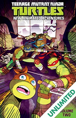 Teenage Mutant Ninja Turtles: New Animated Adventures Vol. 2