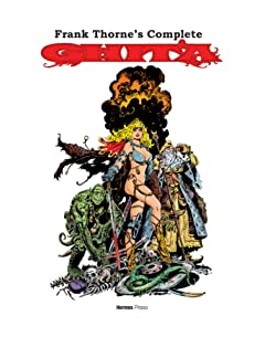 Frank Thorne's Complete Ghita of Alizarr #1