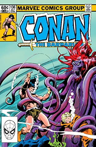 Conan The Barbarian (1970-1993) #136