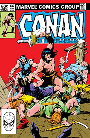 Conan The Barbarian (1970-1993) #137