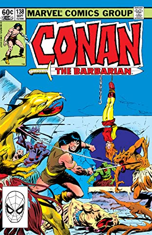 Conan The Barbarian (1970-1993) #138