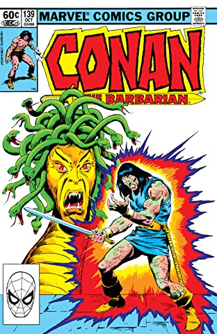 Conan The Barbarian (1970-1993) #139