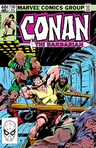 Conan The Barbarian (1970-1993) #140