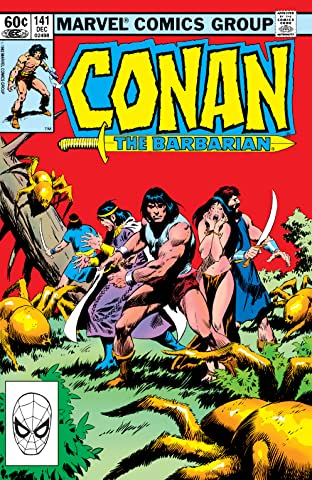 Conan The Barbarian (1970-1993) #141