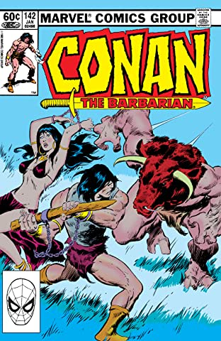 Conan The Barbarian (1970-1993) #142
